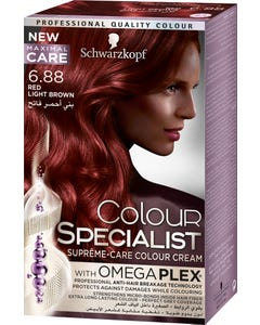 Color Specialist 6-88 Tube Red Light Brown 60 ml