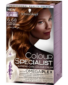 Color Specialist 6-68 Tube Hazelnut Light Brown 60 ml