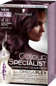 Color Specialist 4-9 Tube Dark Berry Brown 60 ml