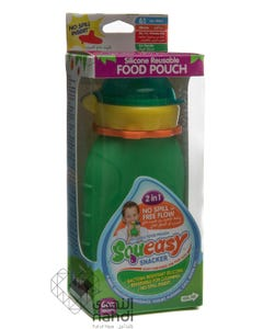 Squeasy Snacker 6 oz Green