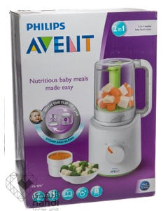 Philips Avent 2 In 1 Combined Steamer And Blender