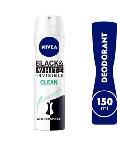 Nivea Spray Invisibile Black&Wihite Fresh Female 150 ml