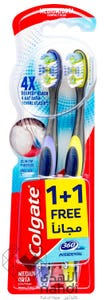 Colgate Toothbrush 360 Interdental Medium 1+1 Free