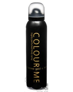 Colour Me Femme Gold Body Spray 150 ml
