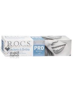 Rocs Pro Brackets & Ortho Whitening Toothpaste