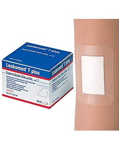 BSN Leukomed T Plus Sterile Adhesive Wounds 7.2*5 cm 5 pcs