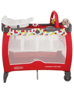 Graco Contour Electra Travel Cot - El Garden Friends