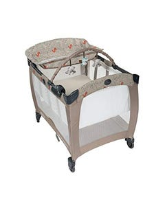 Graco Contour Electra Travel Cot - El Woodland Walk