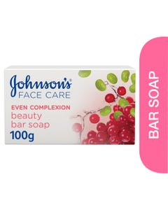 Johnson Even Complexion Facial Soap Bar 100 gm