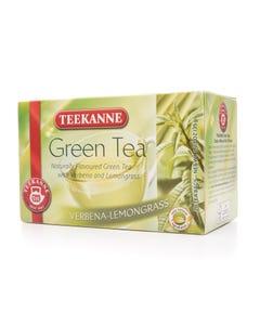 Teekanne Green Tea Verbena-Lemongrass 20 Tea Bags