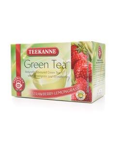 تيكاني شاي اخضر بطعم الفراولة 20 مغلف