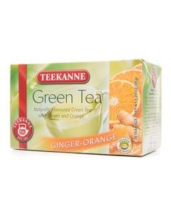 تيكاني شاي اخضر بالبرتقال والجنزبيل  20 مغلف