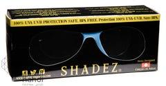 شيدز نظارات شمسية للأطفال 0-3 سنوات زرقاء مزخرفة 40