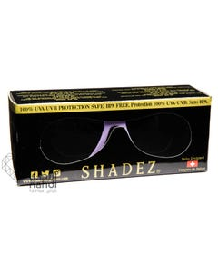 Shadez Polarized Sunglasses 50 Butterfly Purple 3-7 years