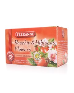 Teekanne Rosehip & Hibiscus Flower 20 Tea Bags