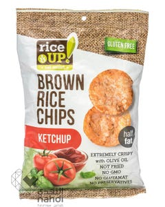 Rice Up  Brown Rice Chips Ketchup 60 gm