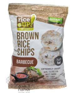 Rice Up  Brown Rice Chips Barbecue 60 gm