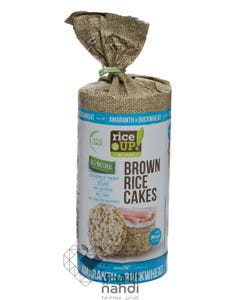 Rice Up  Brown Rice Cakes Amaranth & Buckwheat 120 gm