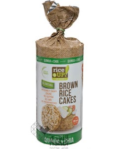 Rice Up  Brown Rice Cakes Quinoa & Chia 120 gm