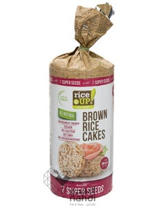 Rice Up  Brown Rice Cakes 7 Super Seeds 120 gm