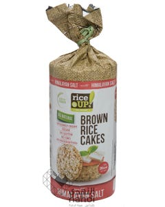 Rice Up  Brown Rice Cakes Himalayan Salt 120 gm
