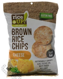 Rice Up  Brown Rice Chips Cheese 60 gm
