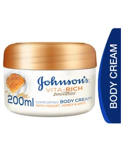 Johnson Vita Rich Comforting Cream Yougurt Honey And Oats 200 ml