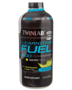 Twinlab L-Carnitine Fuel 1500 Sour Green Apple 473 ml