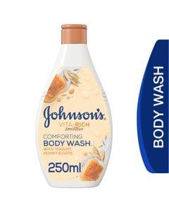 Johnson Vita Rich Body Wash Honey, Oat & Yogurt 250 ml