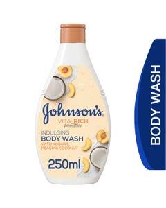Johnson Vita Rich Body Wash Coconut , Peach & Yogurt 250 ml