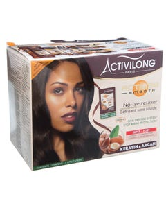 Activilong No-Lye Relaxer Keratin & Argan - Super