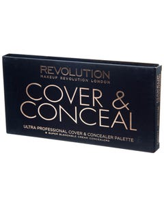 Revolution Ultra Cover and Concealer Palette Light - Medium