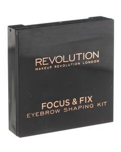 Revolution Focus & Fix Brow Kit Light Medium