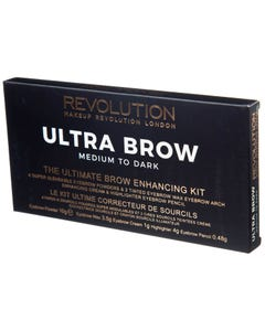 Revolution Ultra Brow Palette medium-Dark
