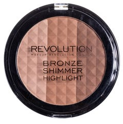 Revolution Ultra Bronze, shimmer and highlighter