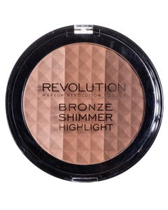 Revolution Ultra Bronze, shimmer and highlighter