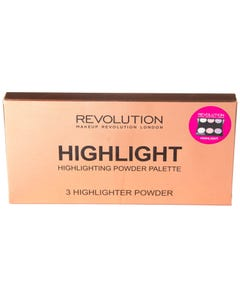 Revolution Highlighter Palette Hightlights