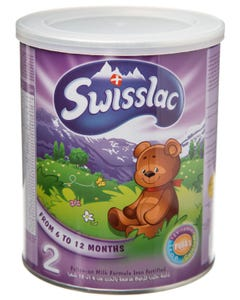 Swisslac Follow-On Formula Iron Fortified 6-12 Months 400 gm