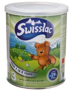 Swisslac Growing-Up Formula Iron Fortified 1-3 Years 400 gm