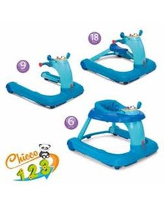 Chicco - Chicco 123 Baby Walker Light Blue