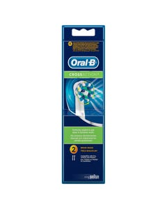 Oral B Brush Heads Cross Action 2 pcs