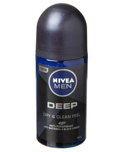Nivea Rool On Deep Dry & Clean Feel 50 ml