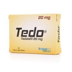 تيدو 20 ملجم 8 أقراص