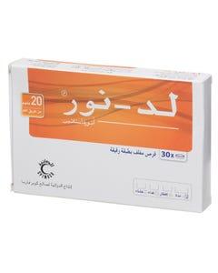 LD-Nor 20 Mg 30 Tablets