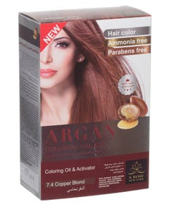 X-Rose Argan Oil Coloring Kit Copper Blond 7.4