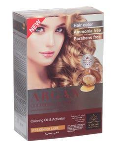X-Rose Argan Oil Coloring Kit Golden Light 9.33