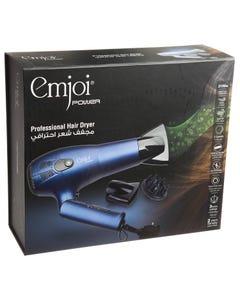 Emjoi Professional Hair Dryer Ionic 2100W For Travel UEHD402