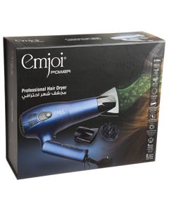 Emjoi Professional Hair Dryer Ionic 2100W For Travel UEHD402