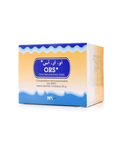 ORS Oral Rehydration Salts 10 Sachets