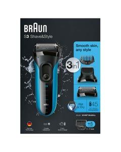 Braun Electric Shaver Series 3-3010BT